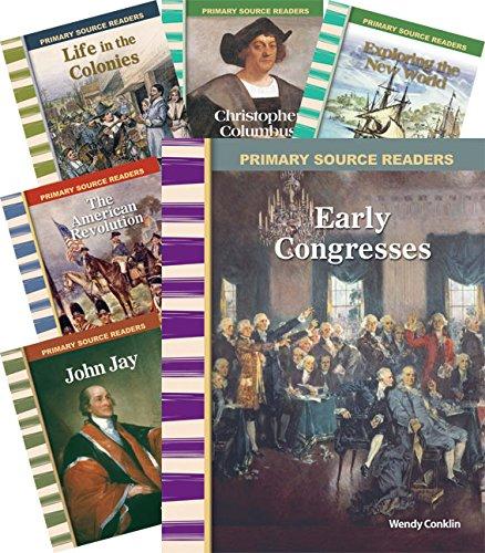 9781493808274: Early American History 8-Book Set (Social Studies Readers)
