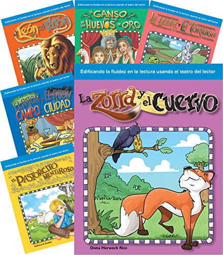 9781493812561: Children's Fables 6-Book Spanish Set (Building Fluency through Reader's Theater) (Spanish Edition)