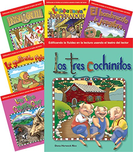 9781493812585: Children's Folk Tales and Fairy Tales 6-Book Spanish Set (Building Fluency through Reader's Theater) (Spanish Edition)