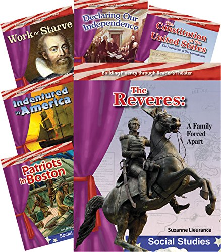 9781493812660: Early American History 6-Book Set (Building Fluency through Reader's Theater)
