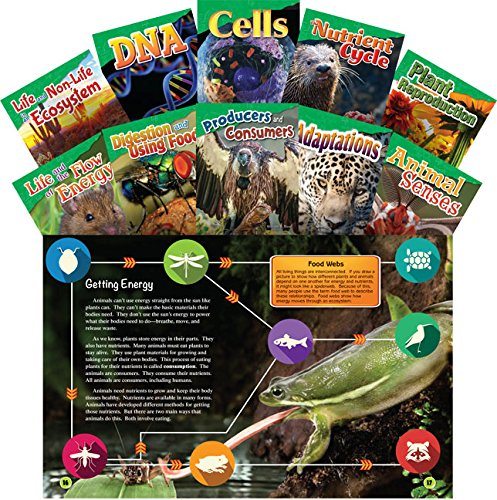 9781493814268: Let's Explore Life Science Grades 4-5, 10-Book Set (Science Readers: Content and Literacy)