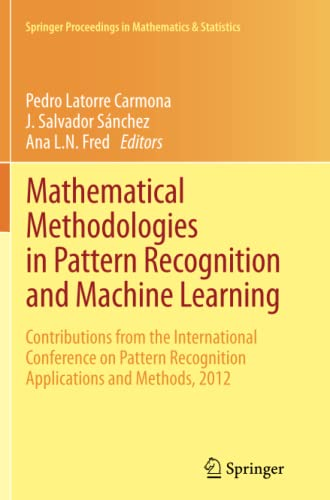 Mathematical Methodologies in Pattern Recognition and Machine