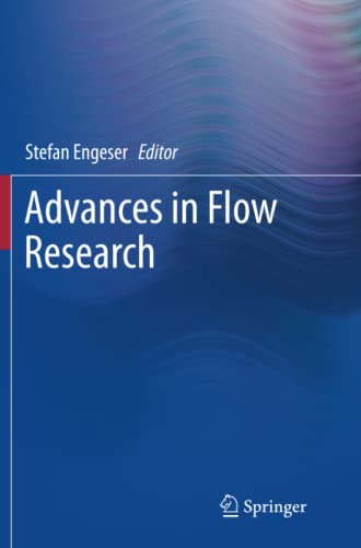 9781493901739: Advances in Flow Research