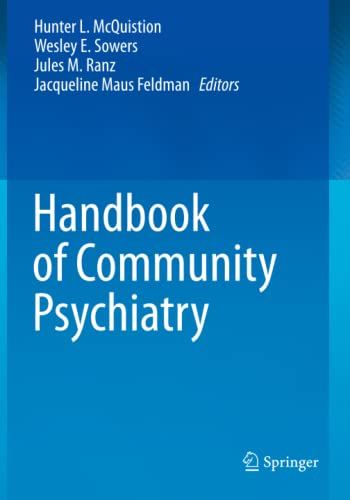 9781493903009: Handbook of Community Psychiatry