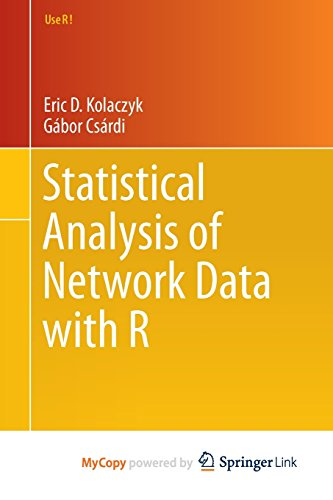 9781493909841: Statistical Analysis of Network Data with R