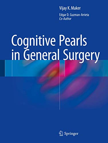9781493918492: Cognitive Pearls in General Surgery