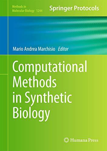 9781493918775: Computational Methods in Synthetic Biology (Methods in Molecular Biology)