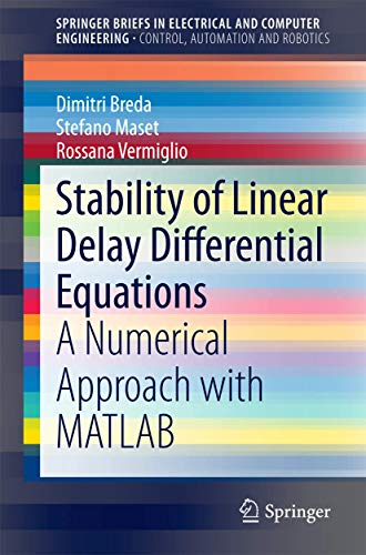 Linearized Stability of Delay Differential Equations: Dimitri Breda