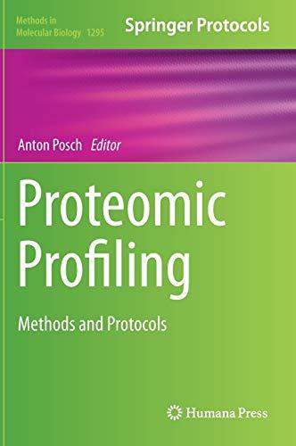 Proteomic Profiling: Anton Posch