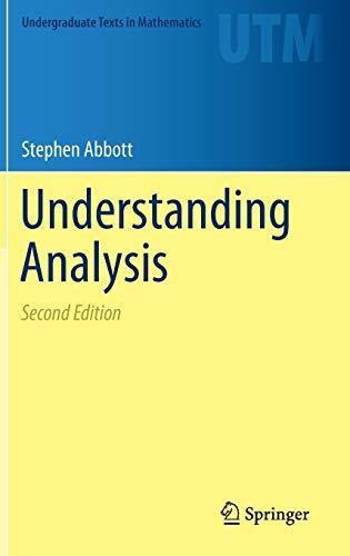 9781493927111: Understanding Analysis (Undergraduate Texts in Mathematics)