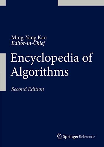 9781493928651: Encyclopedia of Algorithms