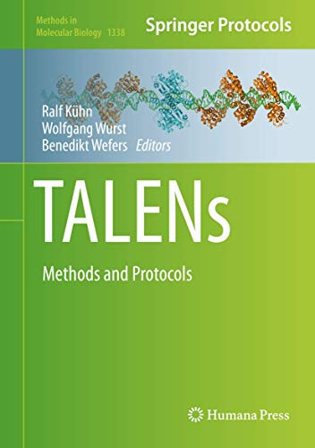 9781493929313: TALENs: Methods and Protocols (Methods in Molecular Biology)