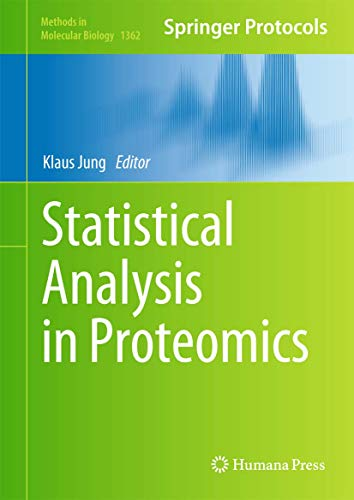 9781493931057: Statistical Analysis in Proteomics (Methods in Molecular Biology)