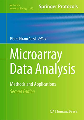 9781493931729: Microarray Data Analysis: Methods and Applications (Methods in Molecular Biology)