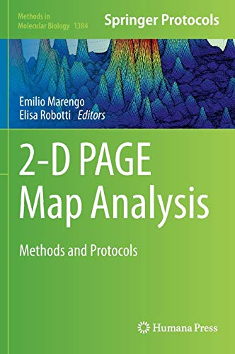 9781493932542: 2-D PAGE Map Analysis: Methods and Protocols (Methods in Molecular Biology)