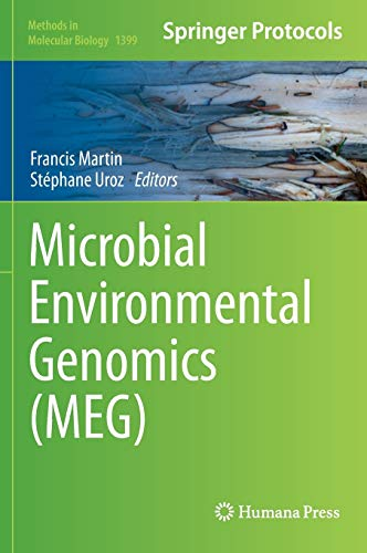 9781493933679: Microbial Environmental Genomics (MEG) (Methods in Molecular Biology)