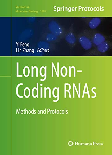 9781493933761: Long Non-Coding RNAs: Methods and Protocols (Methods in Molecular Biology)