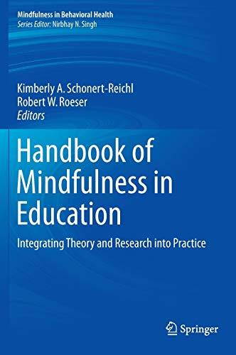 Handbook of Mindfulness in Education: Kimberly A. Schonert-Reichl