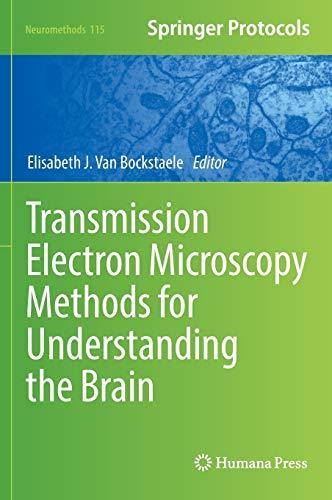 9781493936380: Transmission Electron Microscopy Methods for Understanding the Brain (Neuromethods)