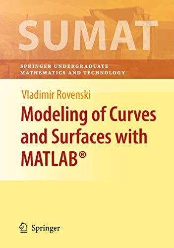 9781493938964: Modeling of Curves and Surfaces with MATLAB®
