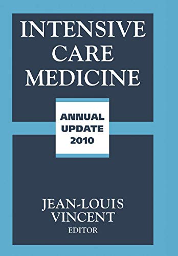 Intensive Care Medicine: Annual Update 2010: Springer
