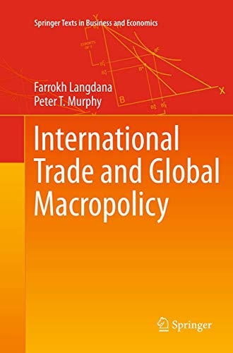 9781493941353: International Trade and Global Macropolicy (Springer Texts in Business and Economics)
