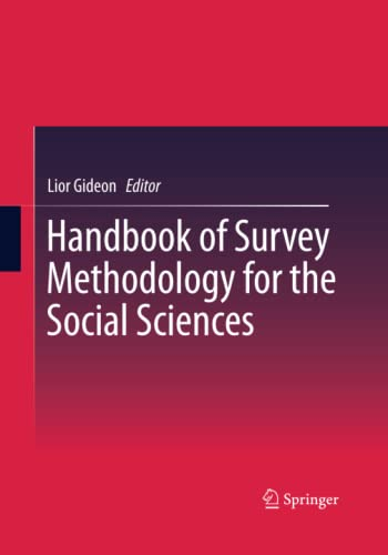 9781493945160: Handbook of Survey Methodology for the Social Sciences