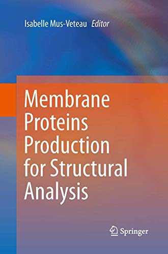 9781493948062: Membrane Proteins Production for Structural Analysis
