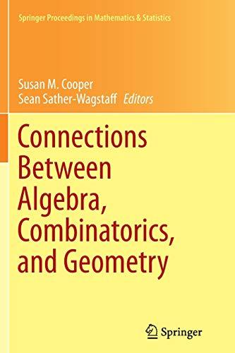 9781493948314: Connections Between Algebra, Combinatorics, and Geometry (Springer Proceedings in Mathematics & Statistics)
