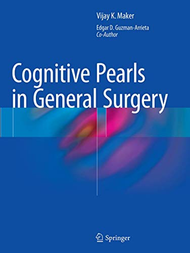 9781493948352: Cognitive Pearls in General Surgery