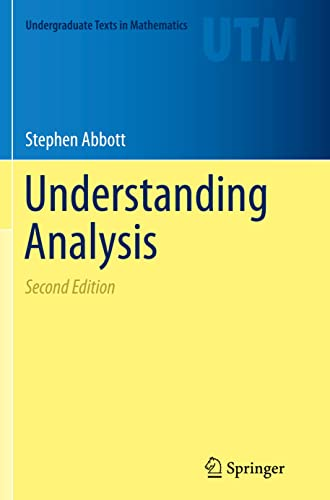 9781493950263: Understanding Analysis (Undergraduate Texts in Mathematics)
