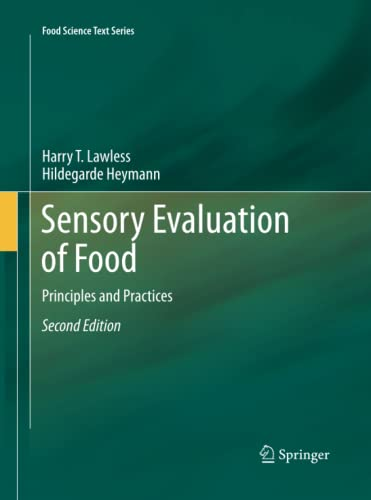 9781493950393: Sensory Evaluation of Food: Principles and Practices