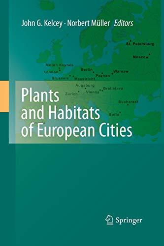 9781493950980: Plants and Habitats of European Cities