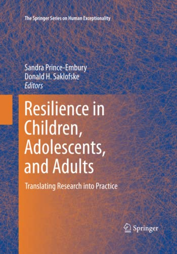 9781493951680: Resilience in Children, Adolescents, and Adults: Translating Research into Practice (The Springer Series on Human Exceptionality)