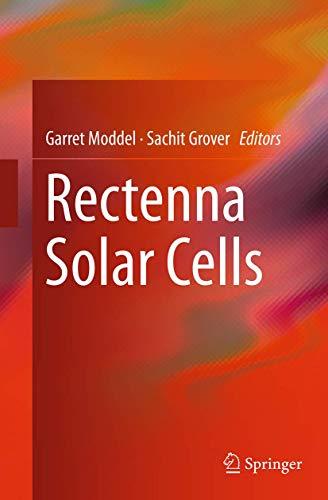 9781493953349: Rectenna Solar Cells