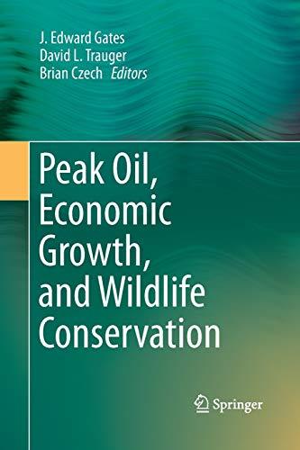9781493954247: Peak Oil, Economic Growth, and Wildlife Conservation