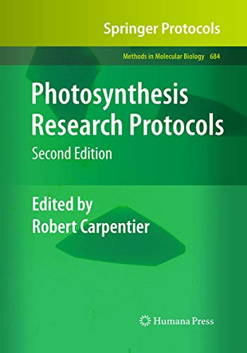 9781493956364: Photosynthesis Research Protocols