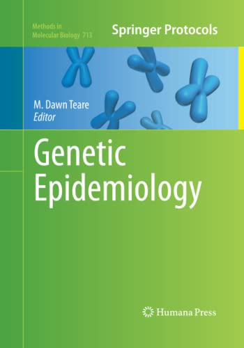 9781493957095: Genetic Epidemiology (Methods in Molecular Biology)