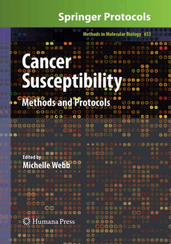 9781493957606: Cancer Susceptibility: Methods and Protocols