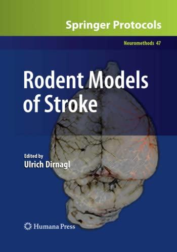 9781493958078: Rodent Models of Stroke (Neuromethods)