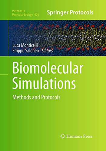 9781493958917: Biomolecular Simulations: Methods and Protocols (Methods in Molecular Biology)