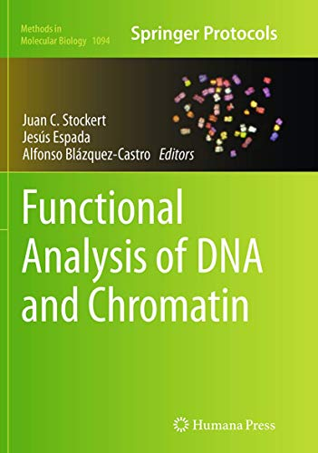 9781493960484: Functional Analysis of DNA and Chromatin (Methods in Molecular Biology)