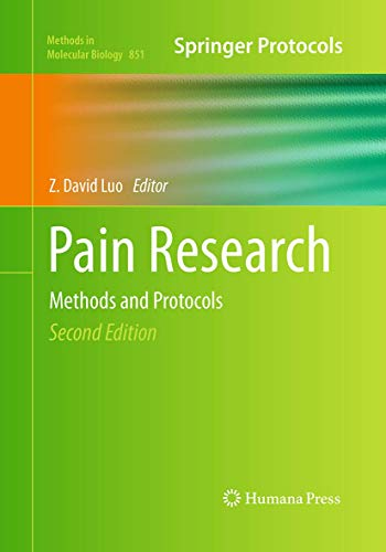 9781493960958: Pain Research: Methods and Protocols (Methods in Molecular Biology)