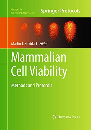 9781493961535: Mammalian Cell Viability: Methods and Protocols (Methods in Molecular Biology)