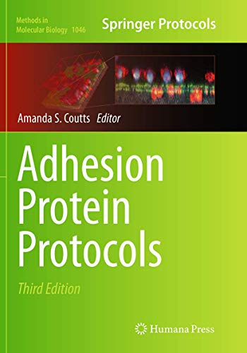 9781493963119: Adhesion Protein Protocols (Methods in Molecular Biology)
