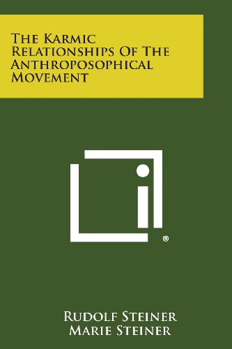 9781494016784: The Karmic Relationships of the Anthroposophical Movement
