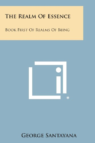 9781494043766: The Realm of Essence: Book First of Realms of Being
