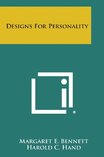 9781494053598: Designs for Personality