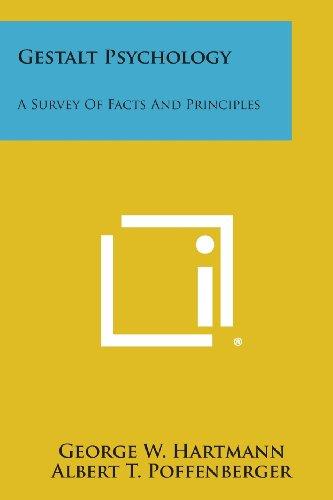 9781494089603: Gestalt Psychology: A Survey of Facts and Principles