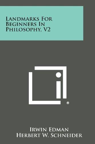 9781494118815: Landmarks for Beginners in Philosophy, V2